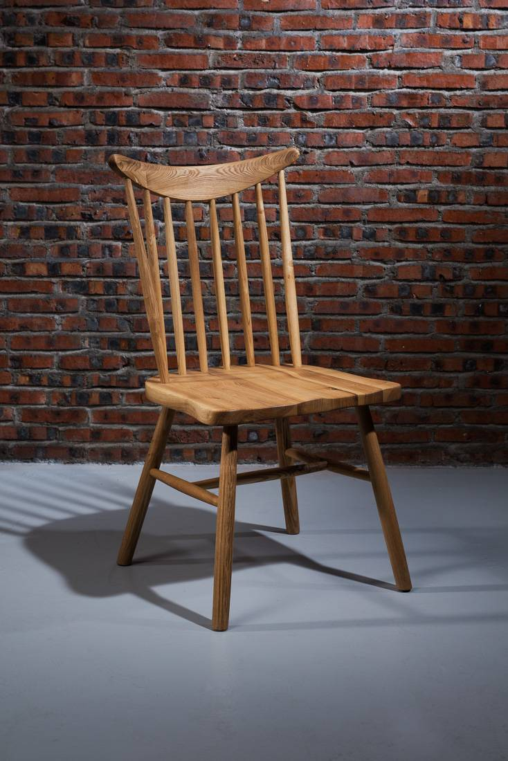 Cheap Hot Sale Dining Chair with Ash Wood