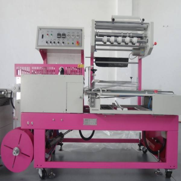 L502 from taiwan automatic induction high speed shrink wrapping machine for little duck toy