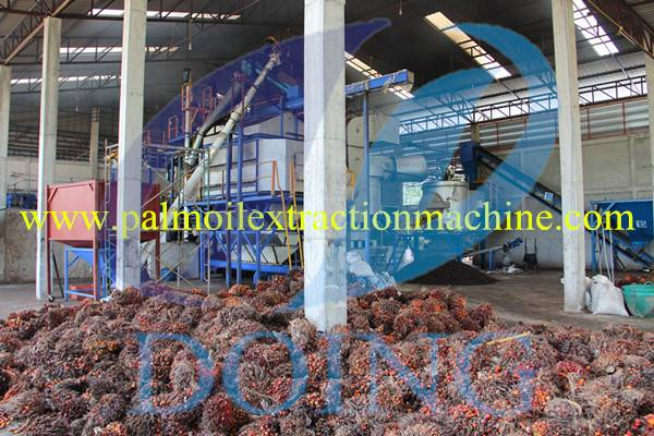 New technology- palm oil extraction machine.