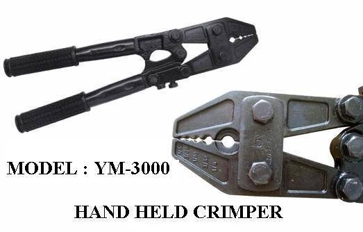 New hand held crimper ( YM-3000 )