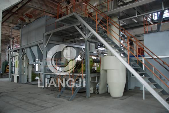 Complete wood pellet mill production line 3-4t/h