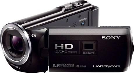 Sony HDR-PJ380/B Full HD Handycam Camcorder Video Camera