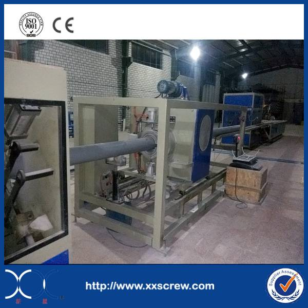 PVC pipe extrusion machine line