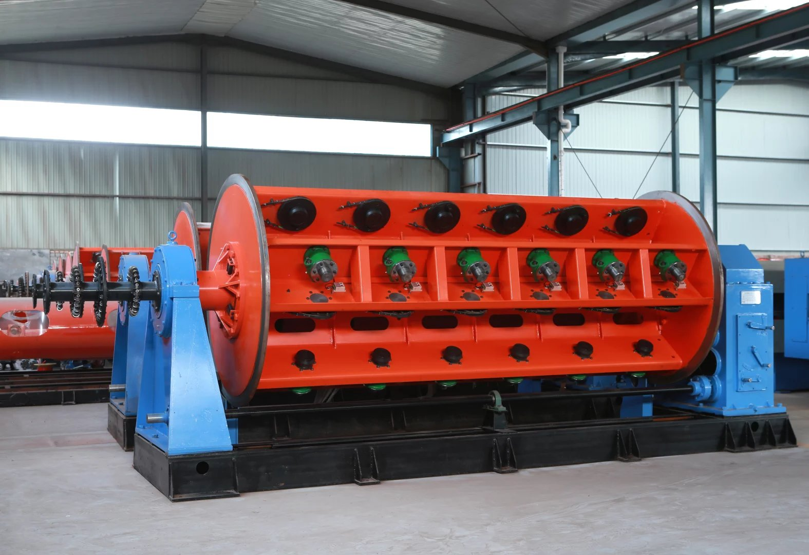 High Speed Good Quality Rigid Frame Copper Conductor Wire Stranding Machine.