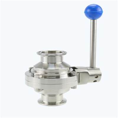 Stainless Steel Sanitary Clamp Butterfly Type Ball Valve