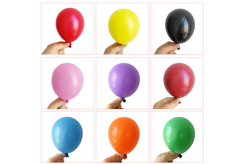 5 Inch Matte Color Round Balloons
