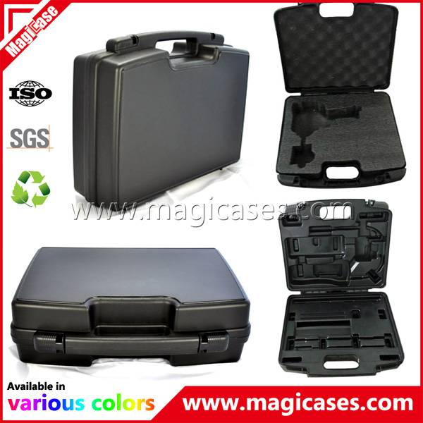 PP Plastic Tool Box Carrying Case with OEM Foam and Printing (MC108)