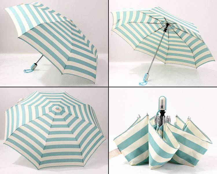 Beautiful fashion solid color gift umbrella folding rain umbrellas