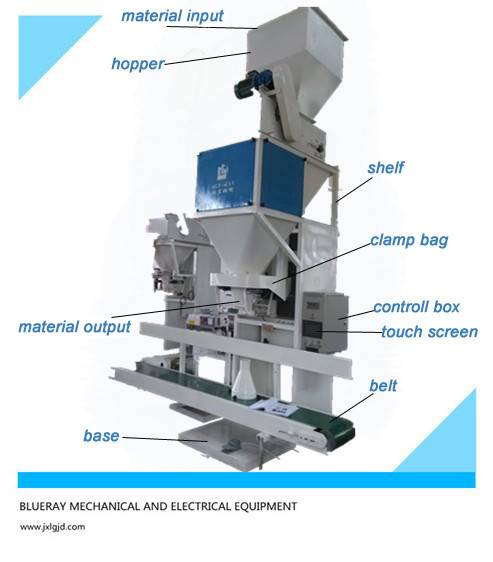 flake fertilizer packaging machine in good price