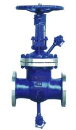 High Temperature Blowing Gate Valve