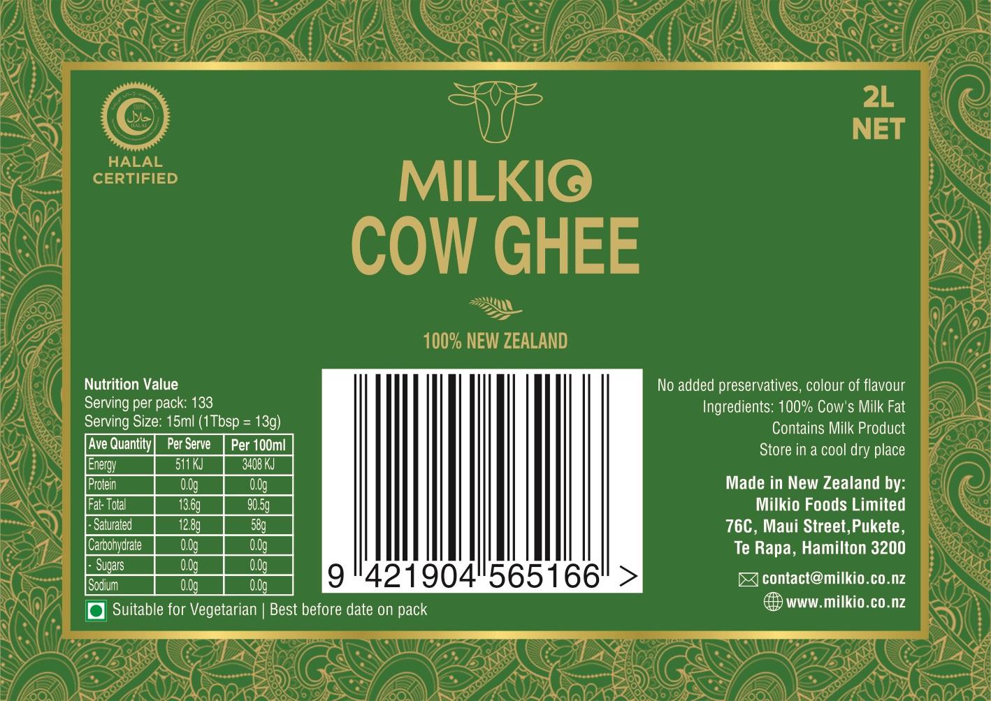 Cow Ghee 2L