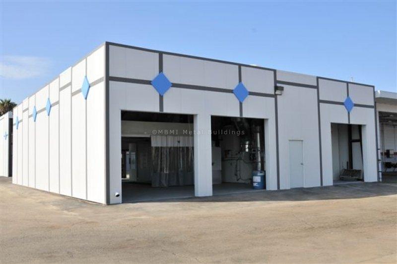 Steel structure car service center