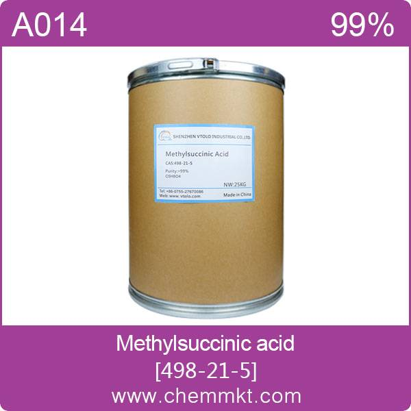 High quality 2-Methylsuccinic acid Cas No.498-21-5
