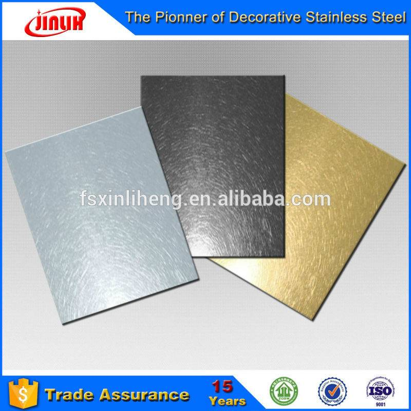 building construction stainless steel vibration surface sheet/panel for elevator