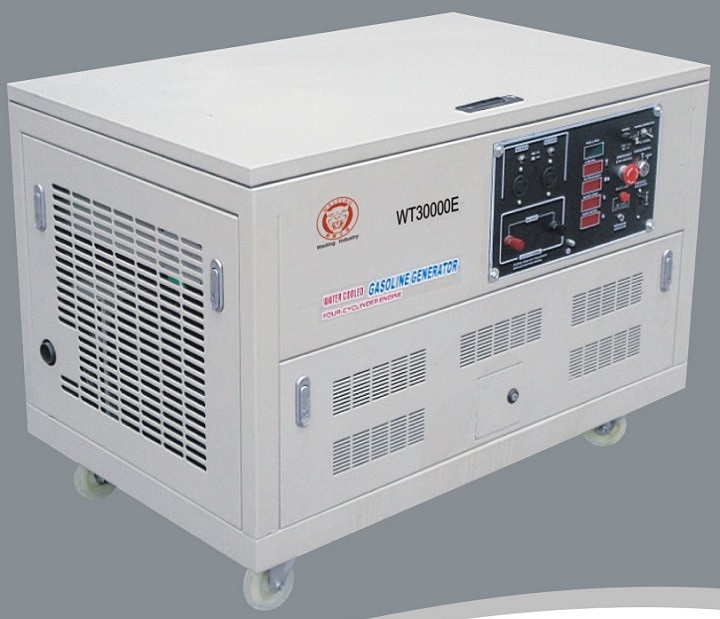 20KW Four sylinder Gasoline generator whith electric start and three phase with high quality