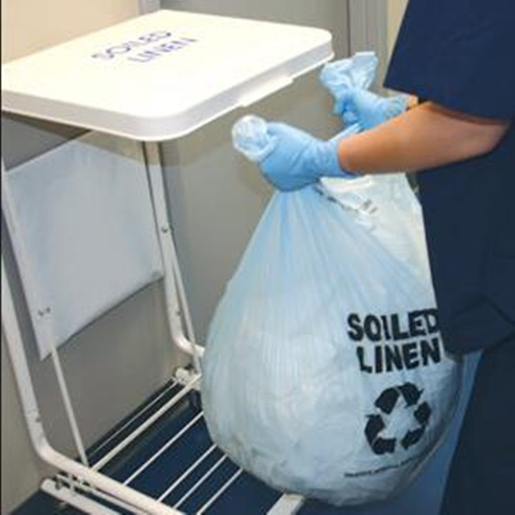 water soluble laundry bags for infection control