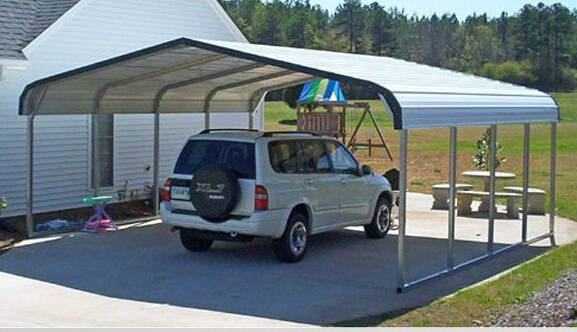 Practical and Economical Steel Structure Car Shed