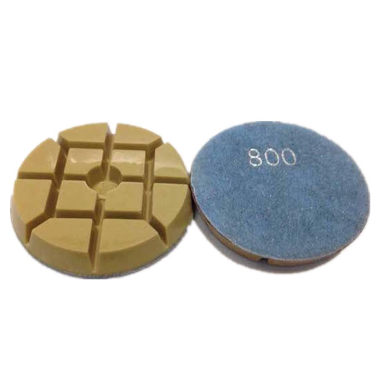 concrete resin dry polishing pads