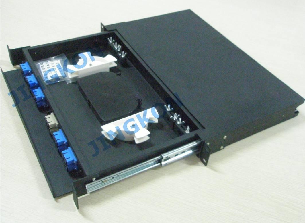 Fiber Optic Terminal Box-SC 24 cores patch panel