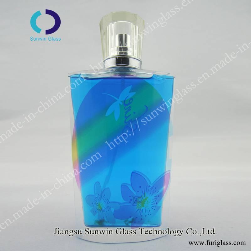 High quality glass perfume bottle