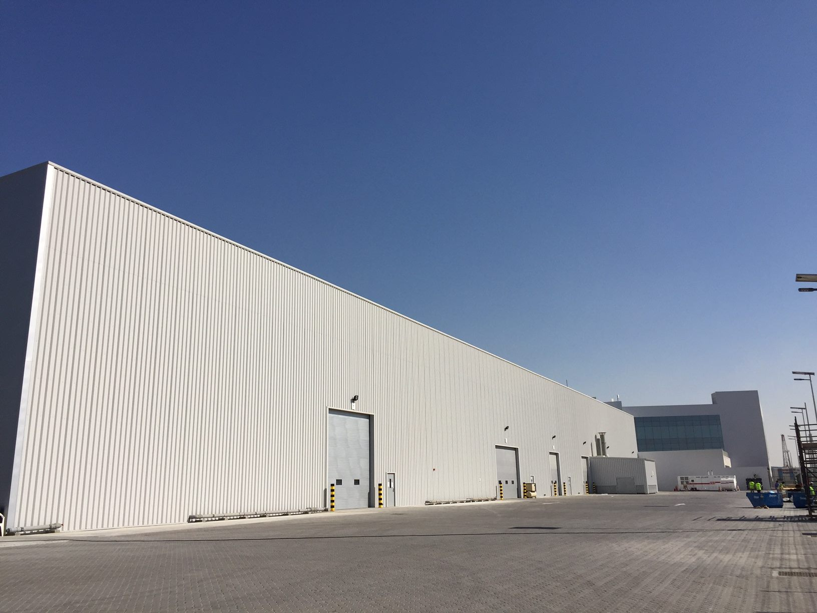Pre engineered steel structure warehouse for south africa