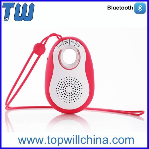 Portable Flexible Silicon Lanyard Mini Speaker with V3.0 Bluetooth
