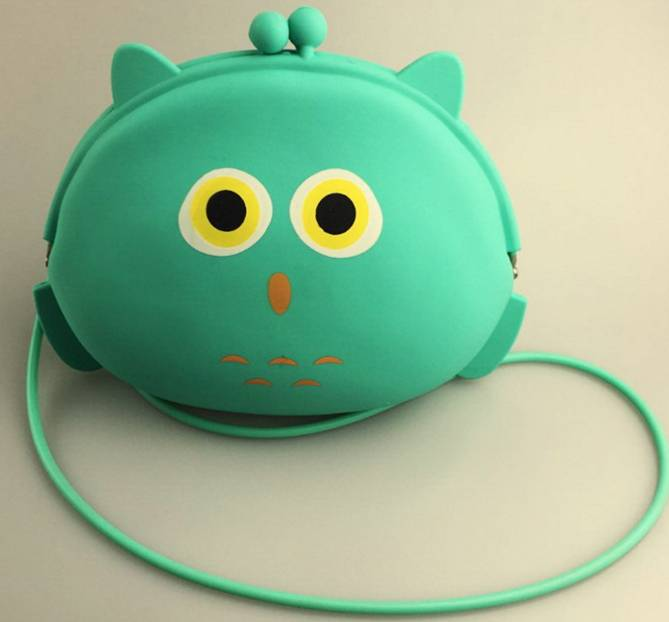 Hot selling silicone purse silicone coin bag