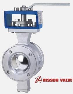 V type control ball valve/valves