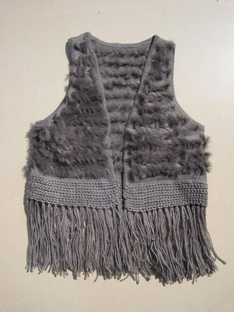 tongchem hand crochet vest