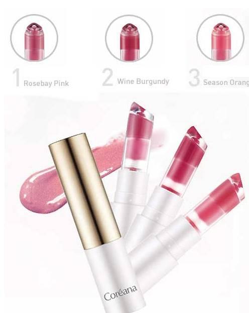 Coreana Essence Lip Collection (Korea Cosmetics)