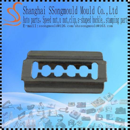 Ssongmould Flat-Type spring clip Fasteners OEM