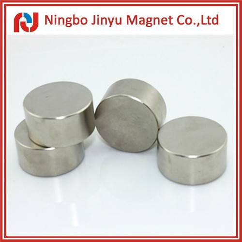 Neodymium disc magnet n35 nickel plating from China 20 years manufactuer