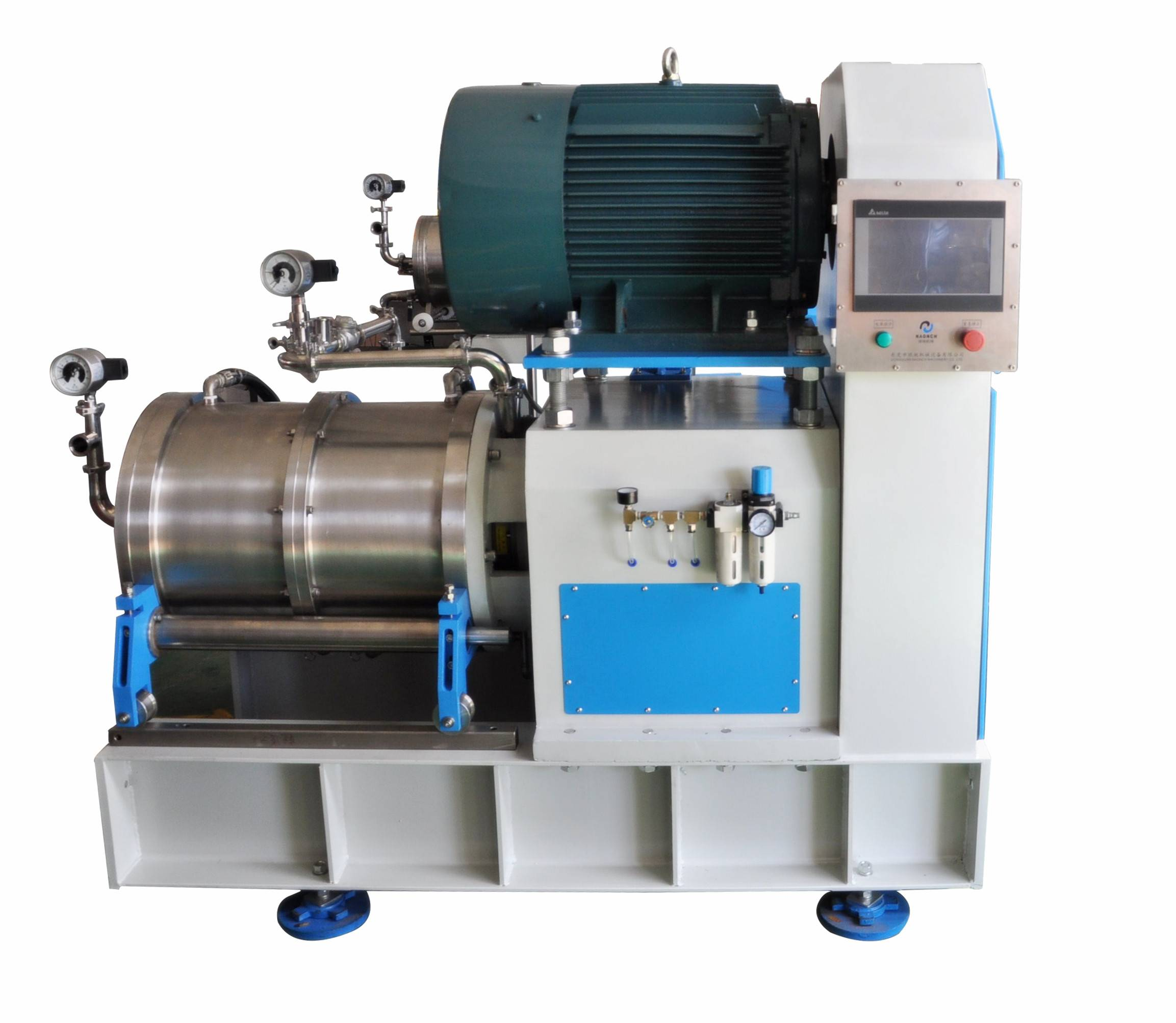 High efficiency horizontal Disc Nano Sand mill