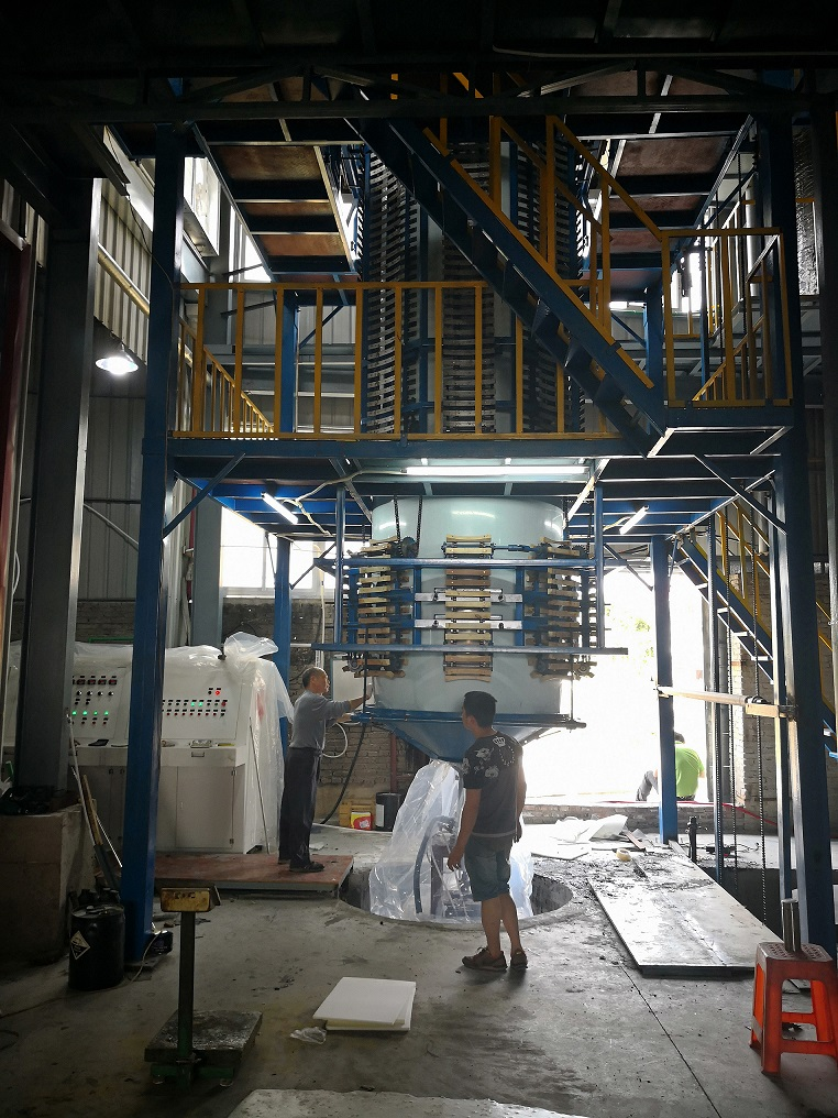 Vertical Automatic Continuously Foaming Machine