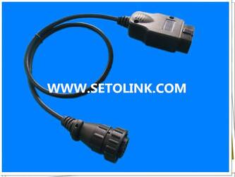 OBD 16 PIN ADAPTER CABLE FOR HEAVY TRUNK AUTOMOTIVE