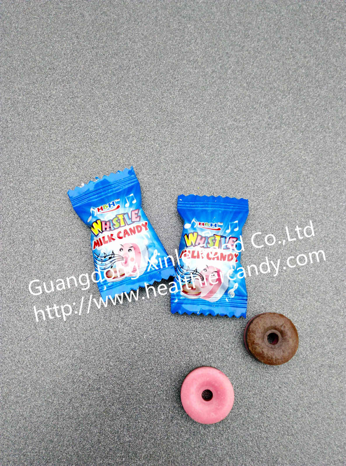 Wholesale Sweet Milk Flavour Whistle Pop Candy Nice Taste