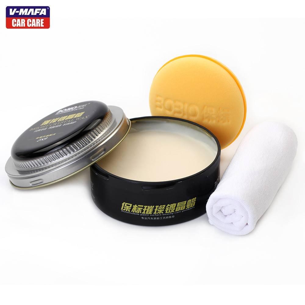V-MAFA Car Black block paste wax,dashboard wax,sprayed wax,soft wax.tire wax,rim wax for polishing a
