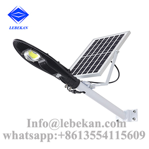 New style 20w 30w 40w 50w 100w integrated solar panel street light