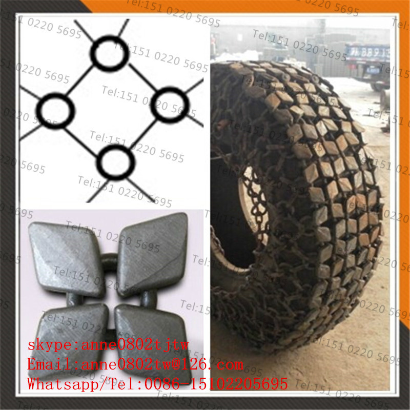 High quality wheel loader tyre protection chain