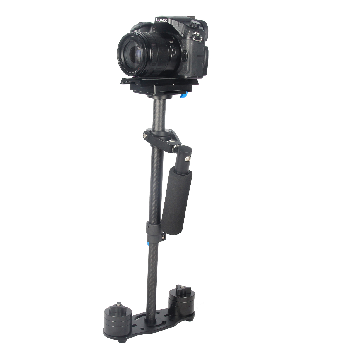 2015 YELANGU Filming Equipment Carbon Fiber Handheld DSLR Camera Stabilizer Steadicam For D5
