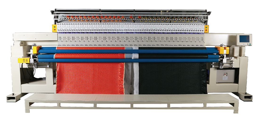 Computerized Single-color Single Roll Quilting and Embroidery Machine CONTACT US FEATURE Full fea