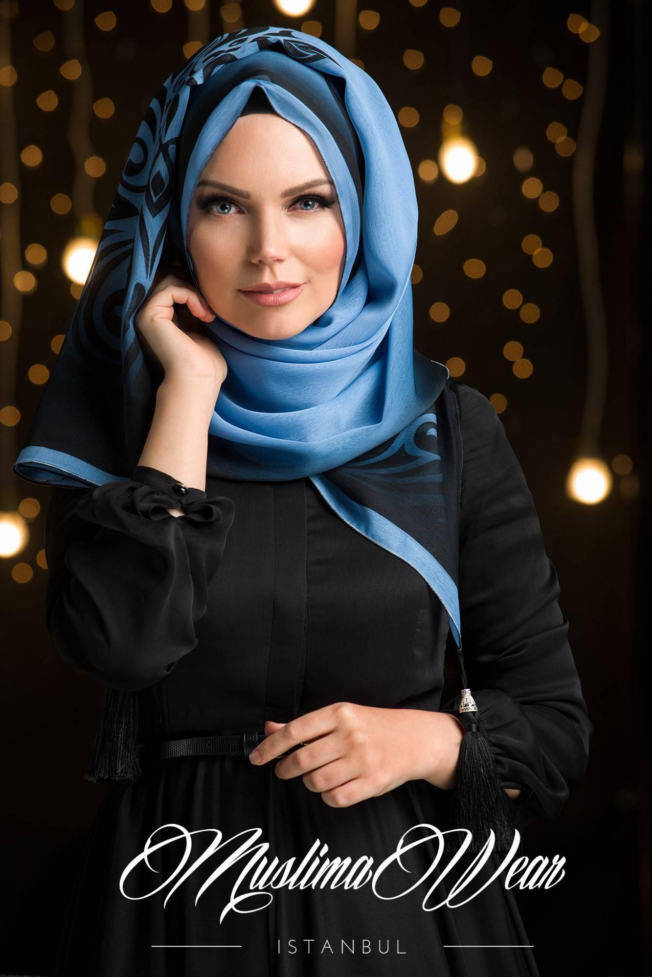 Sultan Hijab Mist Blue