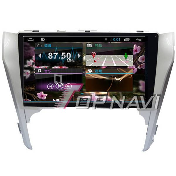 1024*600 10.1inch Android 4.4 Car GPS Player For Toyota Camry 2012 Navigation 3G