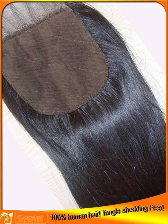 Virgin Indian Brazilian Human Hair Silk Base Lace Top Closure Wholesale, Factory Price