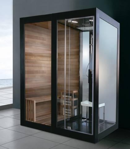 Bathroom Steam Sauna Room With Shower