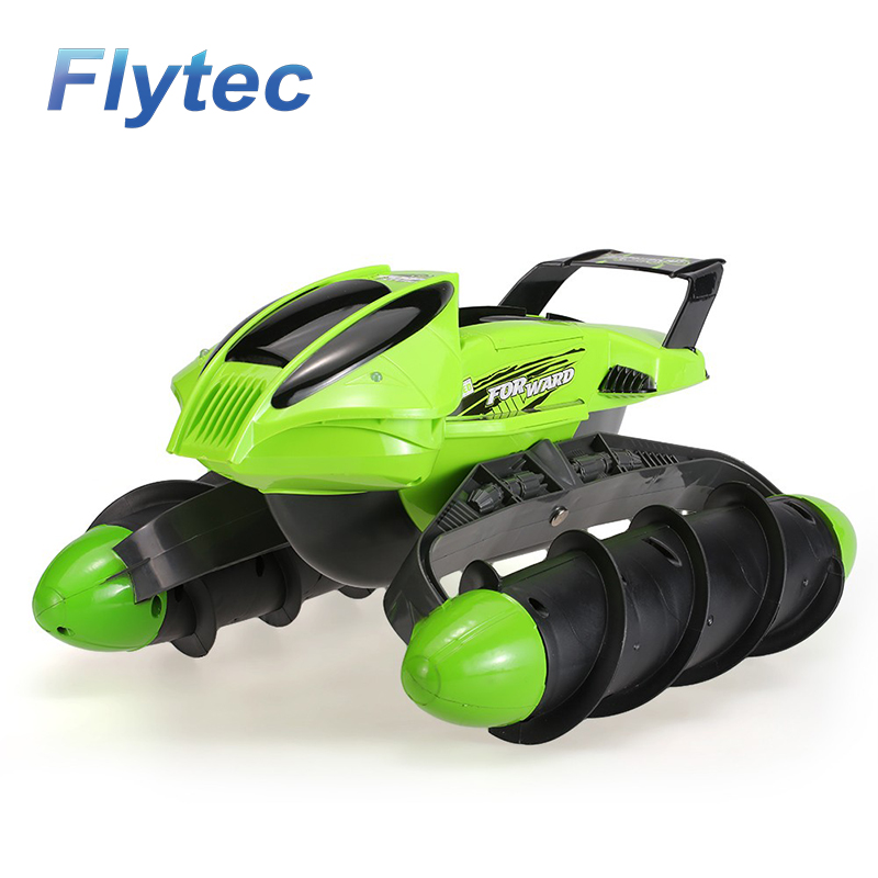 Flytec 989-393 2.4G Stunt RC CAR Waterproof All-terrain Slippery Road High Speed Rc Tank