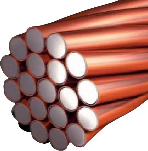 High Tensile Strength Copper Steel Wire ( CCS Wire )