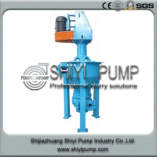 Vertical Mineral Sanding Handling Water Treatment Centrifugal Froth Pump