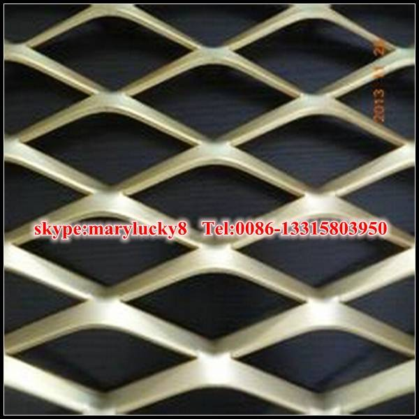 Architecture aluminum expanded mesh