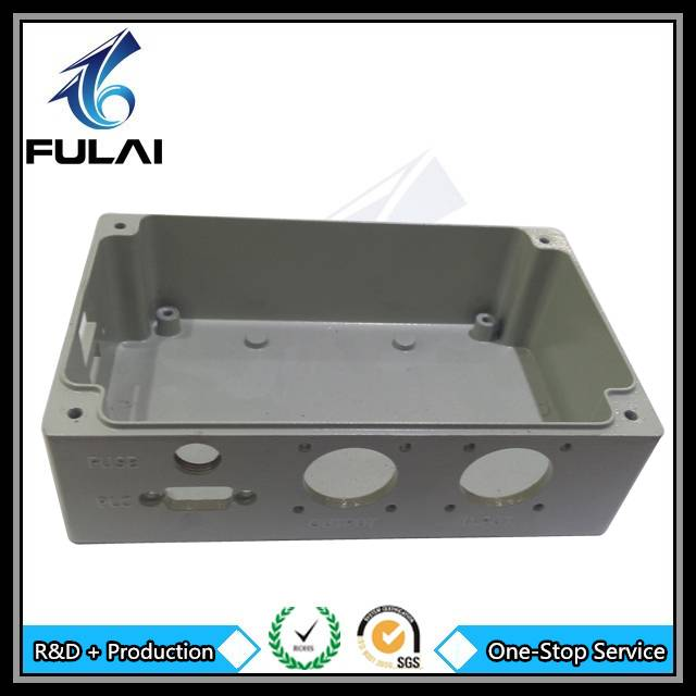Aluminium die cast oem electronic enclosure shenzhen foundry